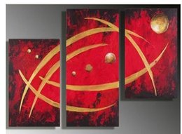 00% high-quality hand-painted abstract wall art decorative painting --- universe