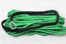 Wholesale 6MM M Strand Braid SL Dyneema fiber Synthetic Winch Rope use for ATV UTV SUV X4 WD