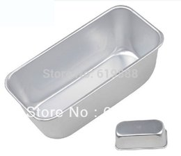 Wholesale Large Rectangle Anodized Aluminum Alloy Toast Loaf Mold Cake Bread Oven Baking Box Without Lid Easy Release Bakeware