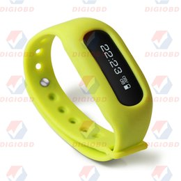 Wholesale ibody Tracker Intelligent Fitness Smart Wristband Pedometer Counter Bracelet Motion Record Step Distance Calorie Sleep Monitor