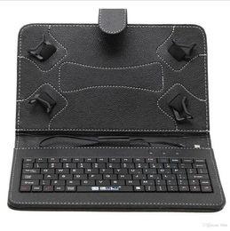 Wholesale New Arrivée US Stock iRulu pouces clavier en cuir Stand Case pour pouces pouces pouces Q88 Tablet PC