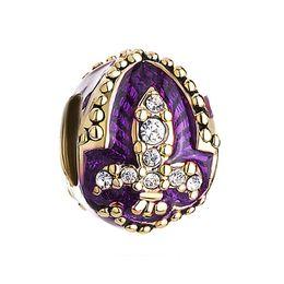 Personalized woman jewelry big hole European color enameled Fleur De Lis French flower metal bead lucky charms fits Pandora charm bracelet