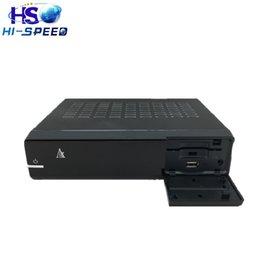Wholesale Best Offer Original ZGEMMA H S Dual Core Single DVB S2 Tuner Enigma Linux MPEG4 HD IPTV Satellite Receiver fedex