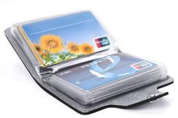 Crédit rapide en Ligne-Nouvelle (24 Cartes) de Cuir d'unité centrale de Crédit, ID de l'Entreprise Titulaire de la Carte de la Poche de Portefeuille de Cas Bx42 Expédition Rapide