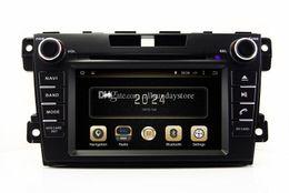 Android 4.4 de coches reproductor de DVD para Mazda CX7 CX-7 2007 a 2.013 con GPS Bluetooth de radio TV AUX USB SD Audio WIFI Stereo desde el jugador del sd para la televisión proveedores