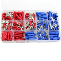Wholesale Assorted Insulated Crimp Terminals Electrical Wiring Connector Kit Case