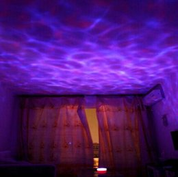 7 Colorful LED Light Lamp Ocean Wave Night Floor Lamps High Quality Bedroom Lamps 135 x 135x 125mm