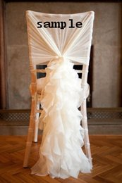 Wholesale 2015 Link For Chair Covers Chair Sashes Sample