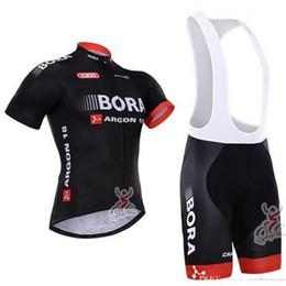 2017 cuissard vente Top ventes BORA usine de vélos à manches courtes Jersey Cycling Jersey Ciclismo et à vélo (Bib) Shorts Kit d'été Vêtements de Cyclisme B18-1 cuissard vente autorisation