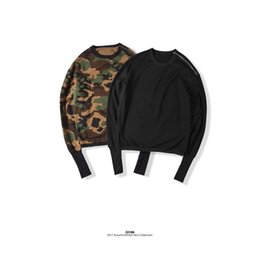 European and American High Street Fashion Comfortable Hipster Round Collar Long Sleeve Couples zippe camouflage Hooded