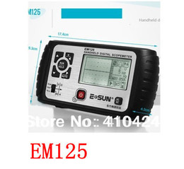 Wholesale EM125 in1 Mini Oscilloscope Multimeter Voltmeter Ohmmeter Capacitance tester Digital handheld scopemeter