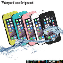 Snowproof Box Waterproof Cell Phone Case Shockproof Dirt Snow Proof Durable Case Excellent Protection For Iphone Samsung w  Retail Package