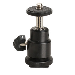 Gros-360 Mini Swivel Hotshoe Support Rotule Support pour DSLR Camera Tripod E2shopping à partir de fabricateur