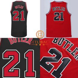 Wholesale 2015 NEW Chicago Jimmy Butler basketball jersey New Material Rev30 Embroidery logo jerseys Top Quality dress NA104