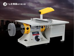 Wholesale Multifunctional Mini Bench Lathe Machine Electric Grinder Polisher Driller Cutterbar w come with Accessories