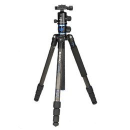 Wholesale Pro Benro GC168TB1 Carbon Fiber Travel Camera Ball Head Transformer Monopod Multi function Tripod Kit With Bag for Canon Nikon etc DSLR