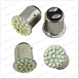 Wholesale 500pcs 1156 1157 22 LED 1206 22smd Turn Signal Reverse Light Backup Bulbs Rear Lamp