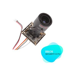 Wholesale 1 quot SONY TVL AVS MTV mm Manual Lens Board Camera with OSD