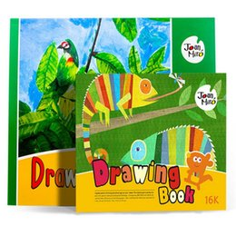 Wholesale 5pcs hot selling children s advanced drawing books watercolor gouache coloring book painting book educational toys