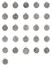 Wholesale Alex Ani English letters charms fashion luckly Alex and Ani charms for alex ani bead bracelet bangles hot selling