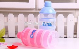 Wholesale Hot Selling baby powder milk box storage layer newborn food container products Milk Bottle