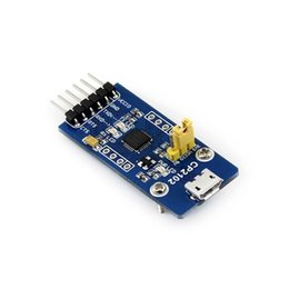 Wholesale WaveshareCP2102 USB UART Board micro USB TO UART Module Features the Single chip USB to UART Bridge CP2102 onboard