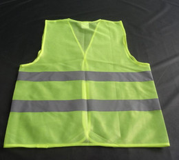 Wholesale Custom Print Your Logo High Visibility Kids Safety Vest High Visibility Reflective Safety Vest for Construction Bicycle Motorcycle
