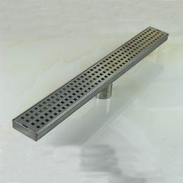 Wholesale PHASAT mm Stainless Steel Nickel Bathroom Kitchen Linear Shower Hidden Square Floor Drain And Retail