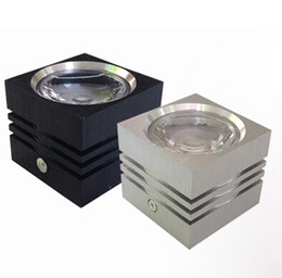 Dimmable 7W 12W high power led downlight aluminum 86-265V AC surface mounted led lighting square led downlights