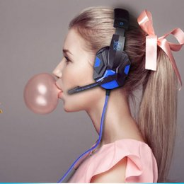 Wholesale Excellent Headphones High Quality Gaming Headsets PC PS4 Auriculares Stereo Ecouteurs Active Noise Cancelling Glow Earphone LOL Headsets