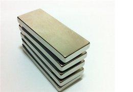 Neodymium magnet n50 5pcs 50 x 25 x10mm Rare Earth Magnets Neodymium Magnets Block free shipping
