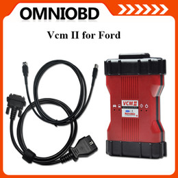 Wholesale 2016 New Release Ford VCM II IDS V96 OEM Level Diagnostic Tool support ford vehicles OBD2 Scanner FORD IDS VCM Plstic box