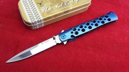 Cold Steel Ti-Lite Liner Loc Knife Zytel Polish 26SP Folding blade knife knives W  Aluminum Box