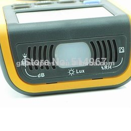 Wholesale Portable in1 Digital Double Insulation Auto and Manual Ranges Multimeter Thermometer Lux Sound Meter counts