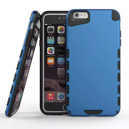 Wholesale fashion hybrid Panda bear combo Armor shockproof rubber rugged case cover skin for iPhone iPhone S and Plus Heavy duty case
