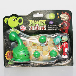 Wholesale NEW Plants VS Zombies Figure Toys Coconut Agriculture Gun PVZ Zombies Figures Toy Model Dolls Great Gift Styles Selectable