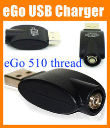 Black eGo USB 510 thread Charger Wireless Electronic Cigarette battery charger adapter for all ego 510 thread vaporizer pen battery FJ001