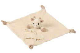 Wholesale Multifunctional farm baby plush toys soft animal sleeping Comforter Toy towel retail