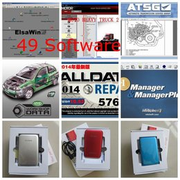Wholesale 2015 new GB Mitchell Repair Software alldata new big auto parts Software Vivid Workshop heavy truck in1 with TB New Hard Disk