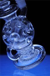 Glass Bongs Oil Rigs Glass Design Eggosphere combo of ball rig with fab Free Shipping