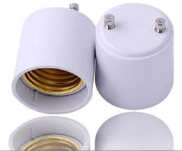 Wholesale GU24 to E27 lamp base holder socket adapter GU24 male to E27 female converter