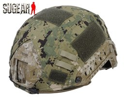 Wholesale-2015 Professional Tactical Helmet Cover For Ops-Core Fast Ballistic High Quality Nylon Durable Helmet Cover For Outdoor Sports