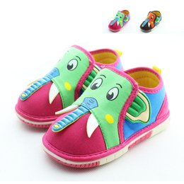 2015 spring and autumn kids sneakers cartoon trunk sound shoes baby canvas shoes children shoes toddler shoes