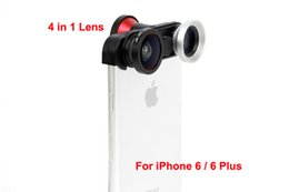 Wholesale New Arrival mobile phone in degree front fish eye Fisheye Lens Macro Len Wide angle Lens for iphone or plus