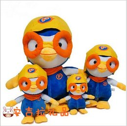 Wholesale Sample order South Korea PORORO penguin plush dolls Wave in the big adventure of the penguin plush dolls Kids birthday present yy2530
