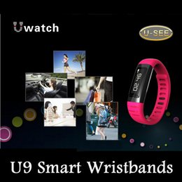 Wholesale U SEE U9 Smart Watch Smart Wristbands Uwatch Waterproof Smart Bands Bluetooth Function Fit Different Occasions For IOS Andriod Phones
