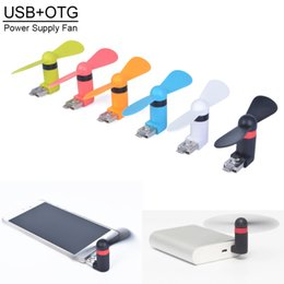 Wholesale Mini USB Dock Fan for iPhone Cellphone MINI Cooler Rotary Handy Fan Great for Summer
