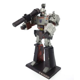 Megatron 3D Metal Puzzle Model Colorful Assembly Earth Model Kits Laser Cut Toy Jigsaw Artwork DIY Building Block Gift for Adults