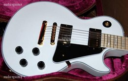 Wholesale perfect hot sell new Custom Alpine White RARE Maple Mint with mahogany body one piece neck Electric guitar