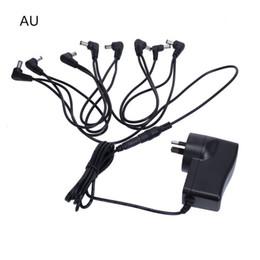 Chinese Guitar Effect Pedal Power Supply AU Plug 9V 8 Way Out input 100-240V MU0893